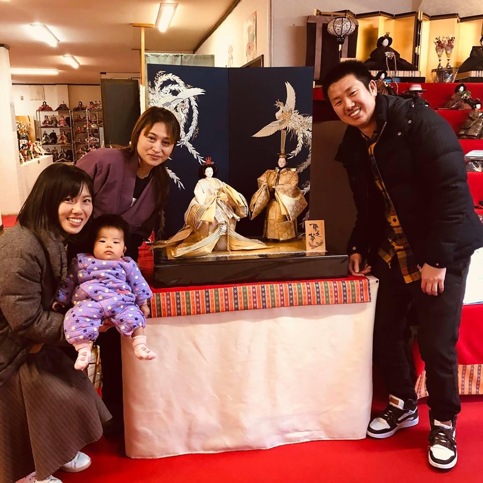 滋賀県の女流人形作家の東之華 (とうか)さんのところで雛人形を買おう。おすすめです。