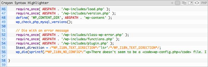 WordPressのブログで「HTMLコード」をカラフルに見せるプラグイン