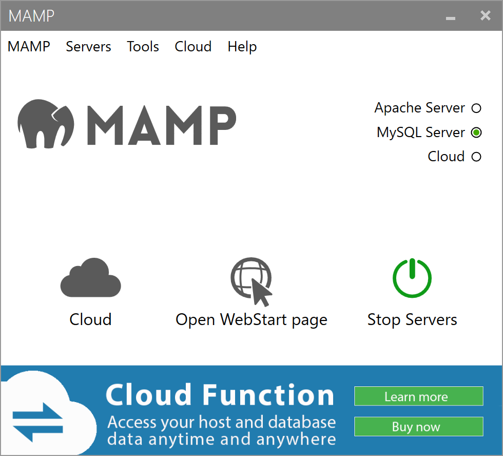 MAMP(マンプ)で「Start Server」をクリックしてもApacheが起動しない対処法