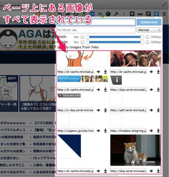 サイトの画像を一気にダウンロードする裏技。Chrome拡張の「Image Downloader」がおすすめ